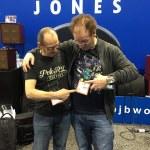 Wayne Jones and Phil Jones at NAMM 201