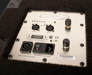 Bass Gear Magazine review of Wayne Jones AUDIO powered bass speaker cabinets. Bass guitar speakers.