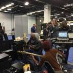 Bass guitar session @ Wayne Jones Audio NAMM 2016 booth