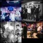 Jones-Scanlon Studio Monitors - Chicago product launch at Eddie Torres' recording studio