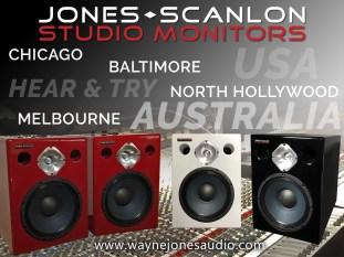 When perfection needs an 11 – Jones-Scanlon Studio Monitors
