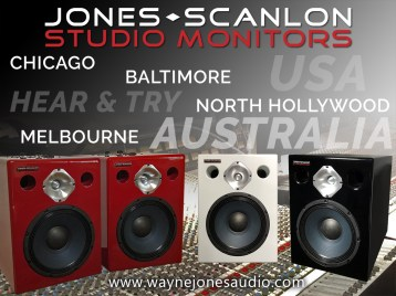 When perfection needs an 11 – Jones-Scanlon Studio Monitors