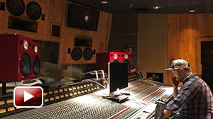 Jones Scanlon Studio Monitors at Record Plant recording studios, Hollywood USA.