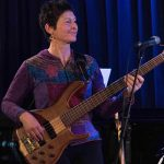 Robyn Payne (keyboards & bass guitar) @ Bird's Basement jazz club in Melbourne