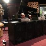 Wayne Jones setting up for product demonstration at Sing Sing Recording Studio