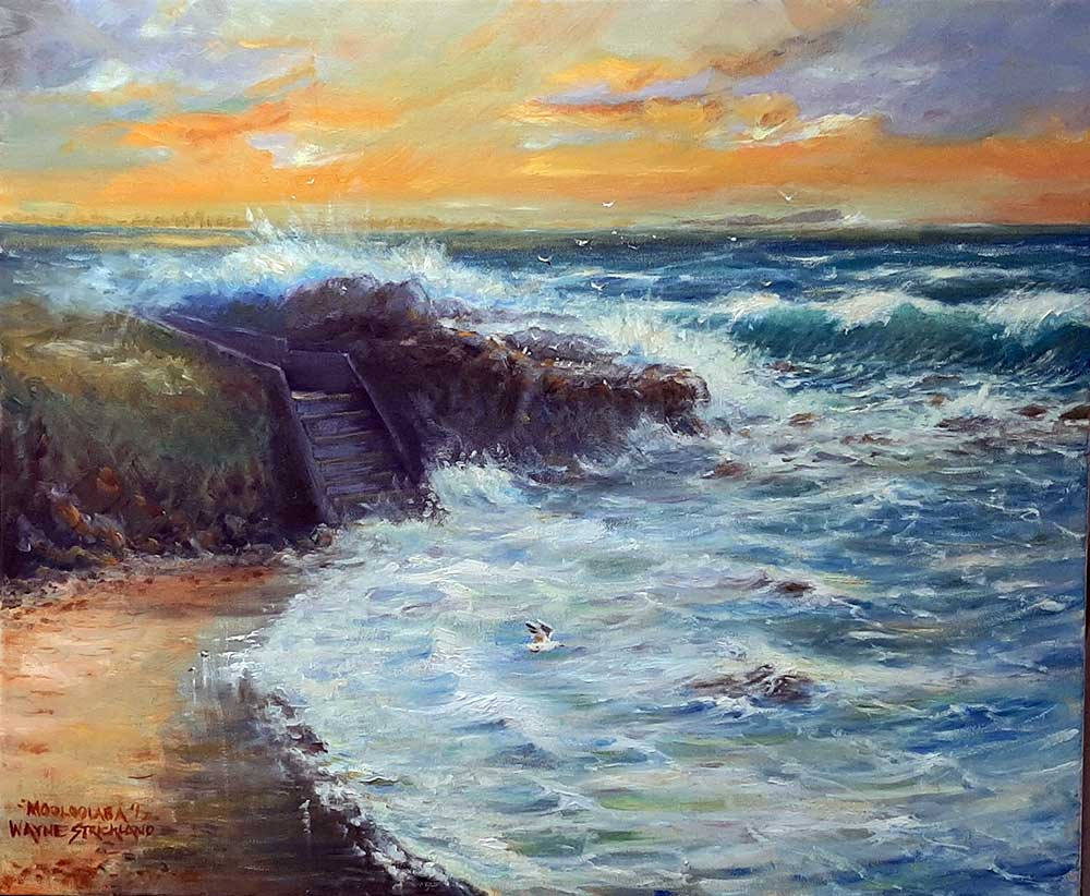 Wayne Strickland latest painting