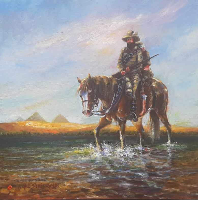 Almost Home mate - painting by Wayne Strickland