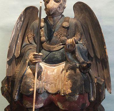 Karasu Tengu Statue