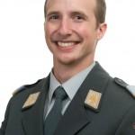 Christian Locher in uniform