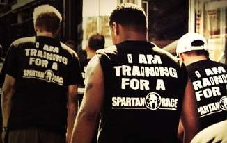 """I Am Training For A Spartan Race"" Shirt"
