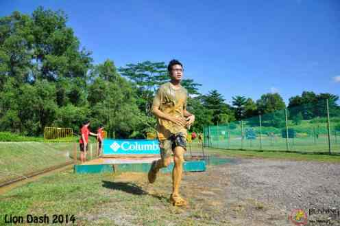 After the mud crawl - Lion Dash 2014
