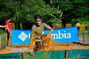 Getting out of the mud pit - Lion Dash 2014