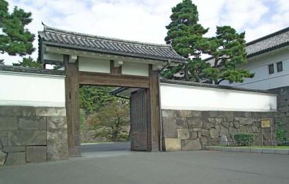 Sakurada Gate at Edo Castle, the center of Tokugawa rule