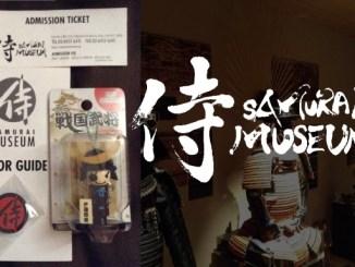 Way Of Ninja visits Samurai Museum - Shinjuku