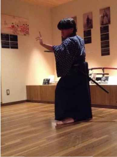 Samurai swordsmanship demonstration (3)