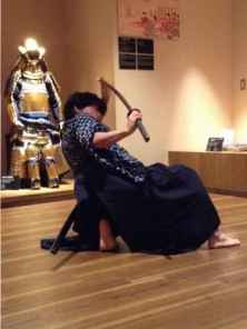 Samurai swordsmanship demonstration (5)
