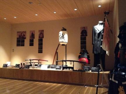 Samurai displays at Samurai Museum