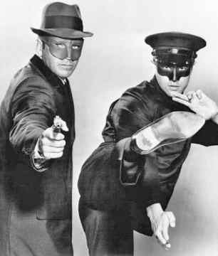 Van Williams and Bruce Lee in Green Hornet Poster