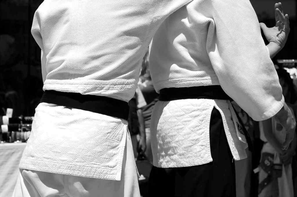 What did the black belt originally represent?