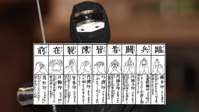 What's the Science behind Kuji Kiri (aka. Ninja Hand Signs)?