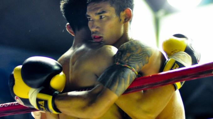 Muay Thai clinch via Thomas sauzedde