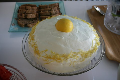 Lemon Cake by Leslie Sarna