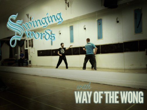 Swinging Swords with Jenn Wong of Way of the Wong and Dan Speaker and Jan Bryant