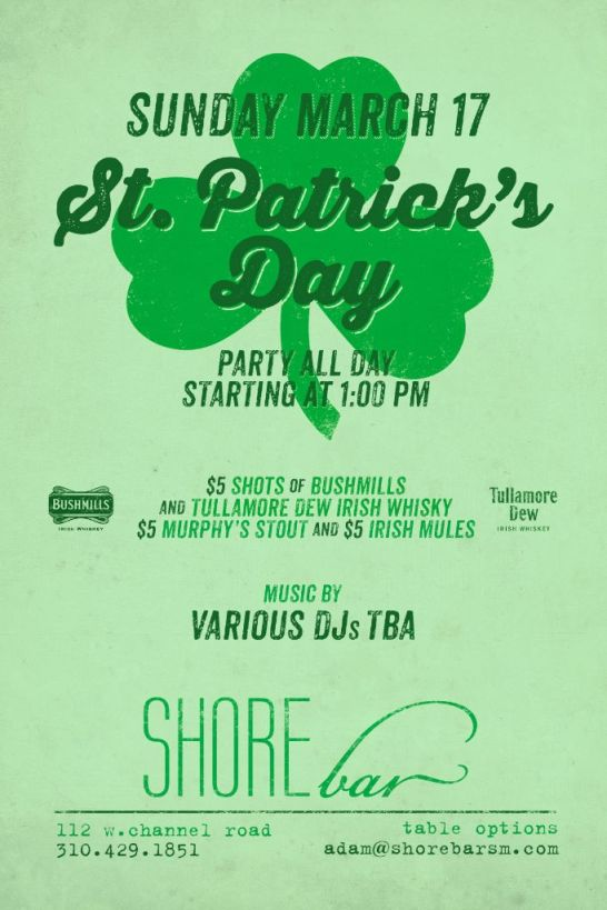 ShoreBar St Patty's Day 2013