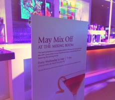 May Mix Off at the Mixing Room at the JW Mariott