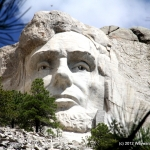 Abe up close