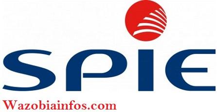 SPIE Oil & Gas Services Recruitment 2020