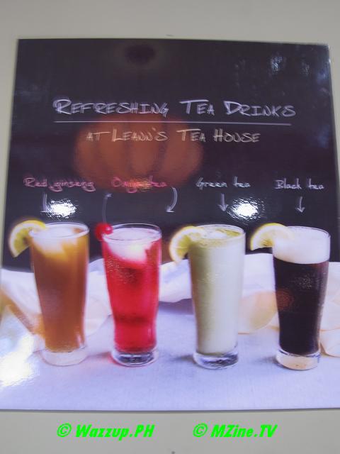 Frozen Tea Drinks