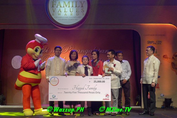 Special Citation for Environment (endorsed by Maynilad Water Services, Inc.) – Mr. Eduardo and Mrs. Stela Hagad and family of Singapore