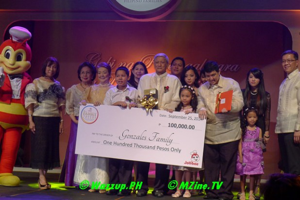 Mrs. Rachel Palacio and family of Pandacan, Manila (child and family development trainings)