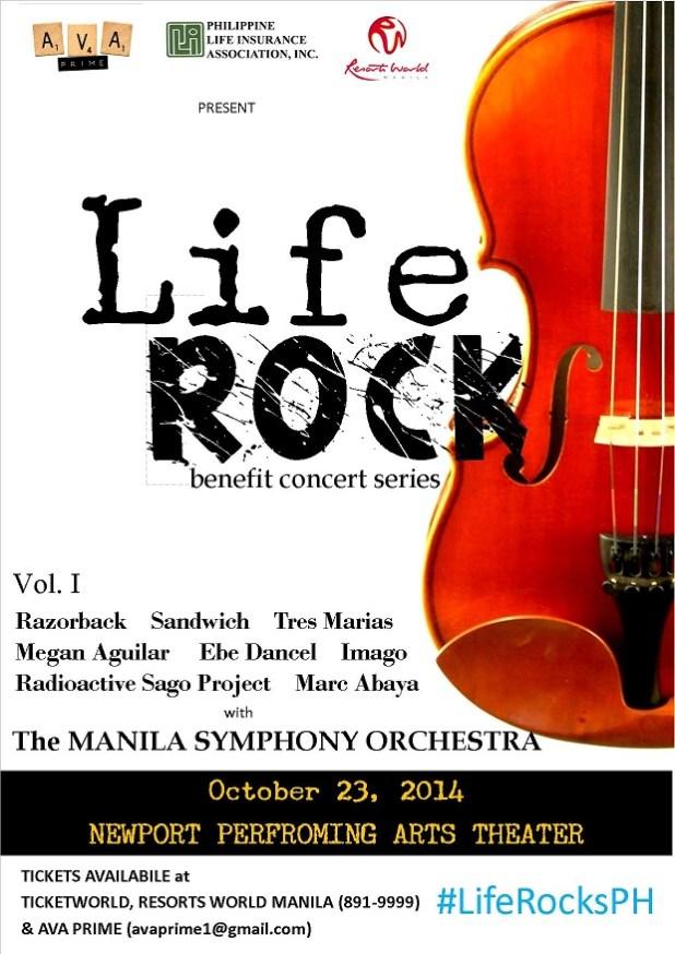 life rocks v1 poster