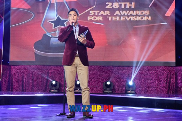 Coco Martin - Best  Drama Actor - PMPC Star Awards for TV-1112