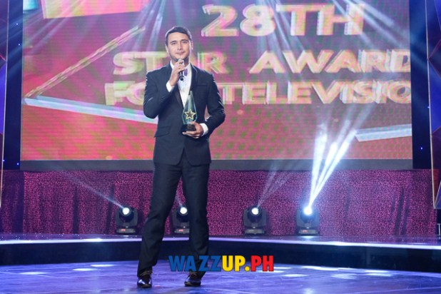 John Estrada Ikaw Lamang - Best Supporting Actor - 28th PMPC Star Awards for Television 2014-0996