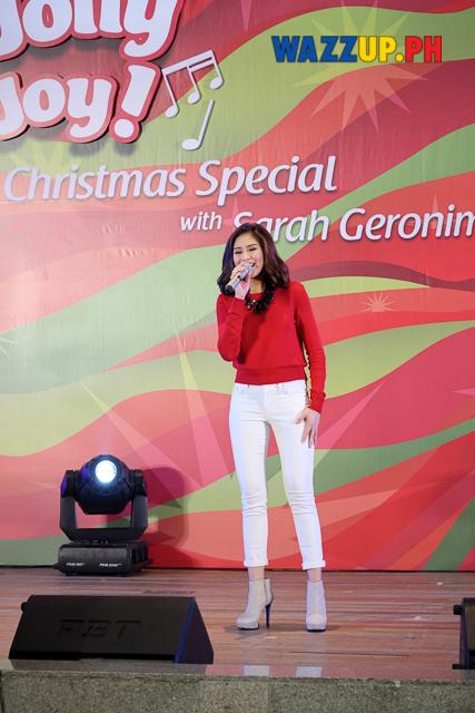 JollyJollyJoyJoy Christmas Special with Sarah Geronimo at Trinoma-1048