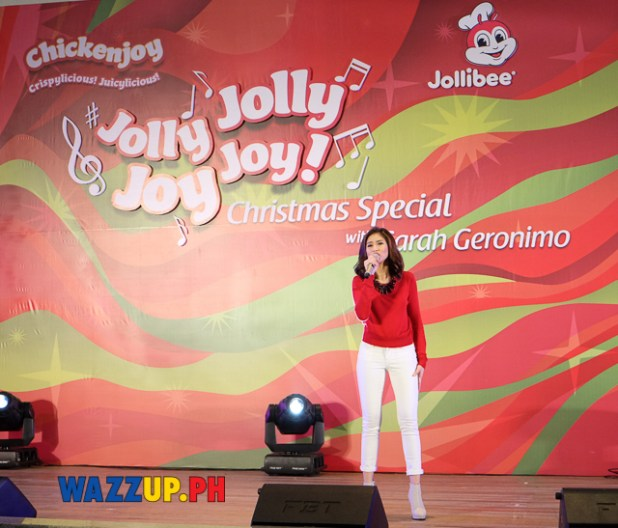 JollyJollyJoyJoy Christmas Special with Sarah Geronimo at Trinoma-1091