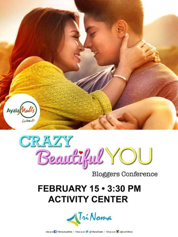 Crazy Beautiful You bloggers conference live in Trinoma