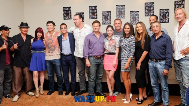 Showdown in Manila Movie Presscon with Mark Dacoscos, Tia Carerra, Iza Calzado, Andrzej Bartkowiak-8455