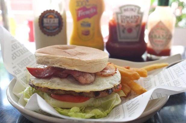 size matters pasig Breakfast in Bed (BIB) Burger