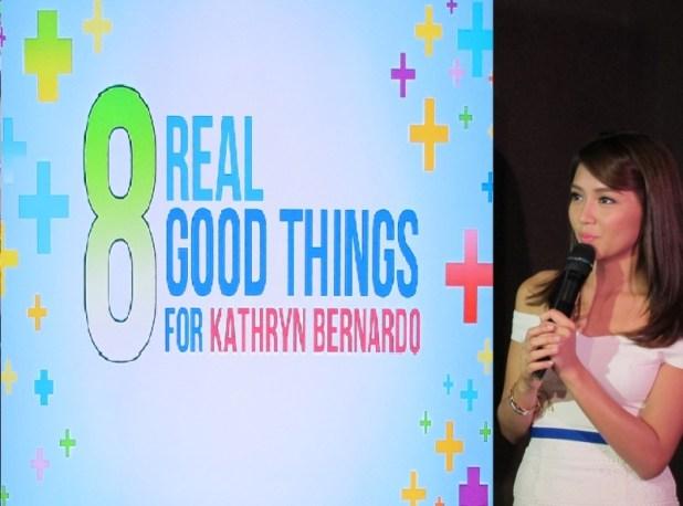 8 REAL GOOD THINGS FOR KATHRYN BERNARDO ORACARE PRESSCON
