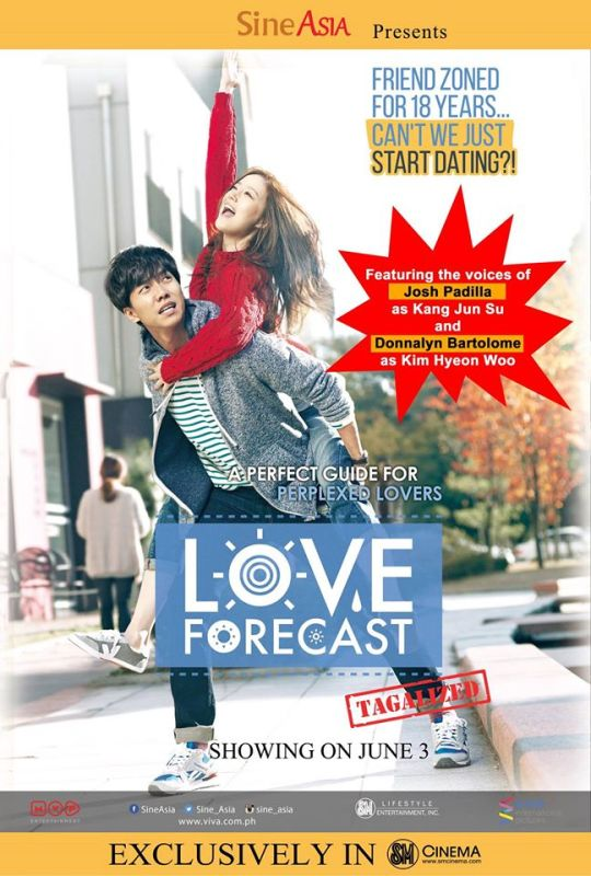 Love Forecast with the voices of MTV VJ Josh Padilla and Donnalyn Bartolome
