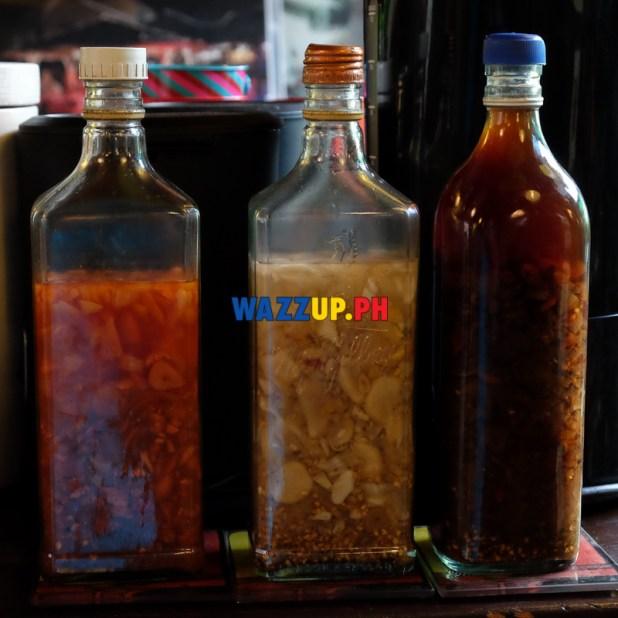 3 Types of Vinegar dips - St Nicholas Resto Mandaluyong