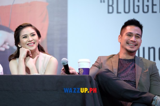 The Breakup Playlist Blogcon Video Coverage with Sarah Geronimo and Piolo Pascual