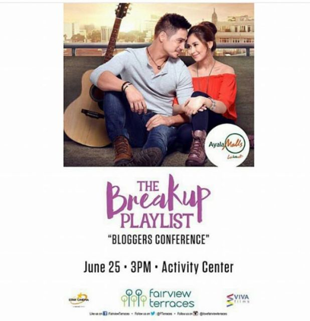 the breakup playlist with sarah geronimo and piolo pascual bloggers conference ayala terraces
