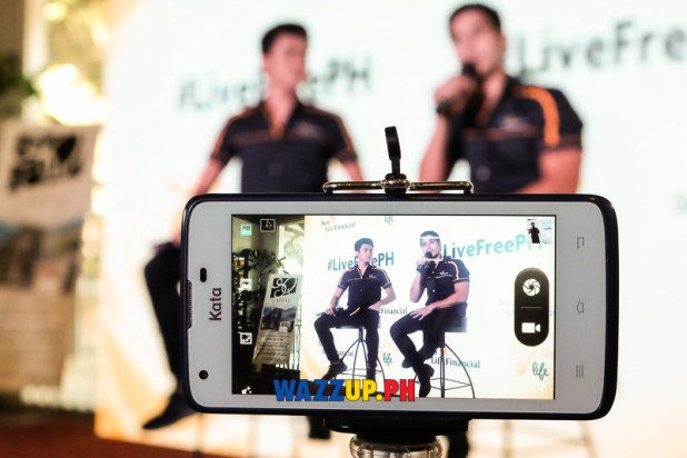 Sunlife LiveMorePH with Inigo Pascual and Piolo Pascual-1-2