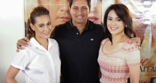 The Love Affair Premiere Night with Richard Gomez Dawn Zulueta Bea Alonzo