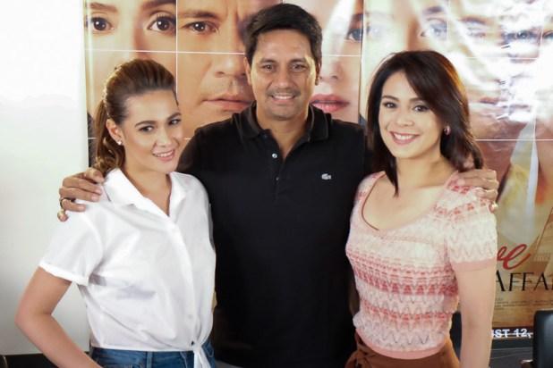 The Love Affair Premiere Night with Richard Gomez Dawn Zulueta Bea Alonzo